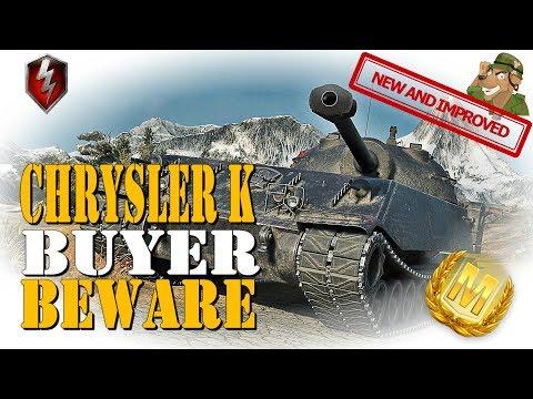 Buyer Beware! | Chrysler K Review | WoT Blitz [2019]