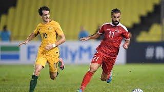 ملخص واهداف مباراة سوريا واستراليا 1-1 | ملحق اسيا المؤهل لكاس العالم HQ