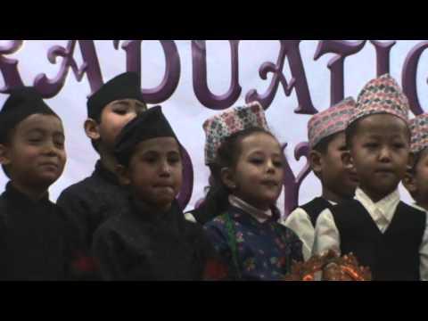 Kathmandu Model Pre-Primary Level Graduation Ceremony 2015