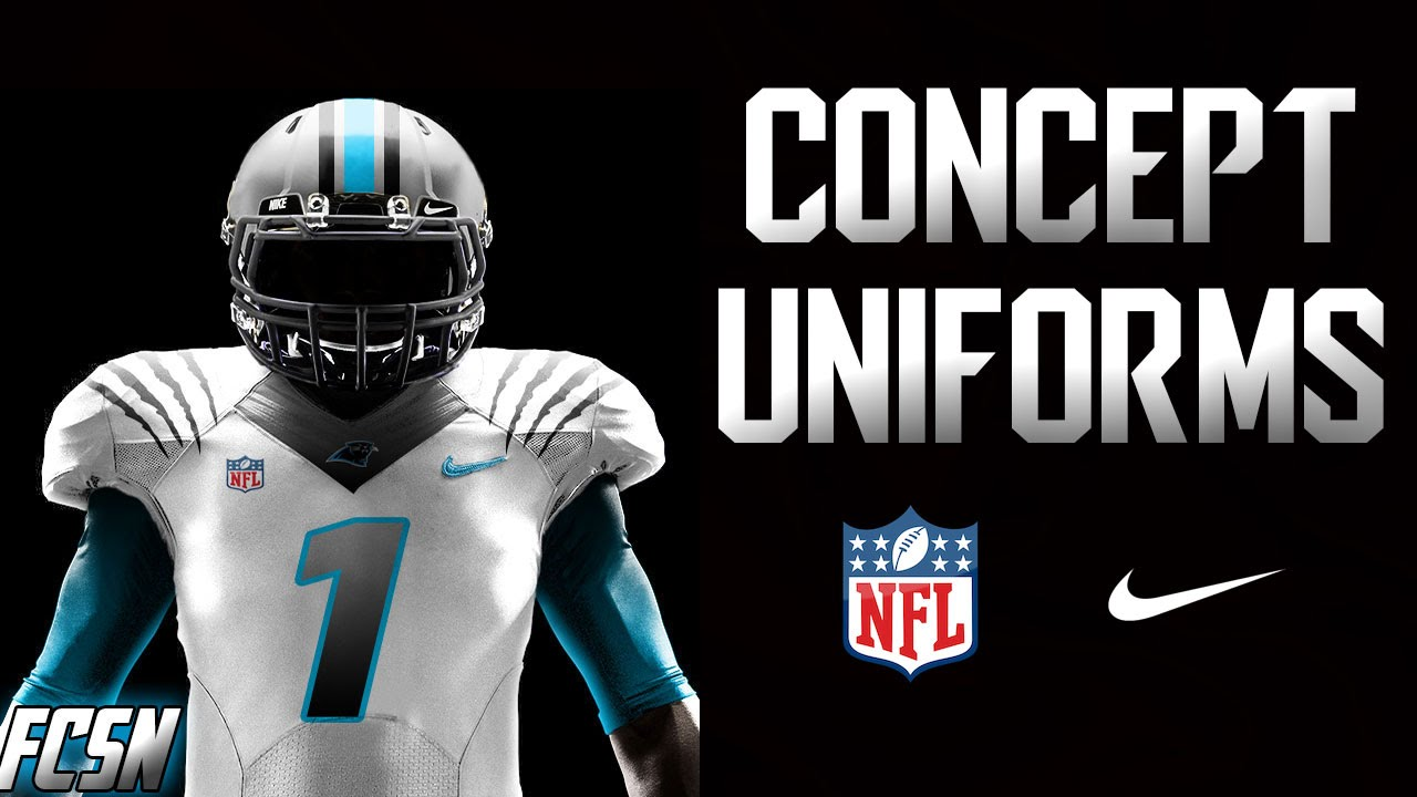 Nfl Football Concept Uniforms Ep1 Instagram Fcsportsnetwork You