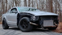 Building a 600hp Turbo Mustang in 6 Minutes!