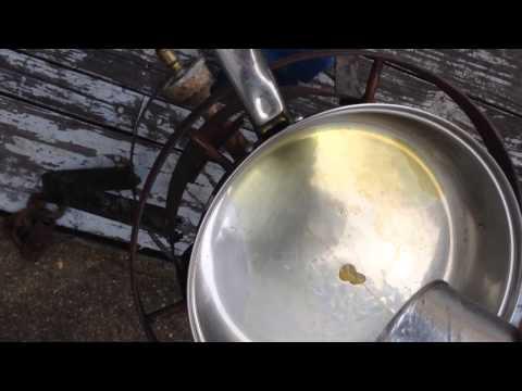 Hacket mills oil crackle test