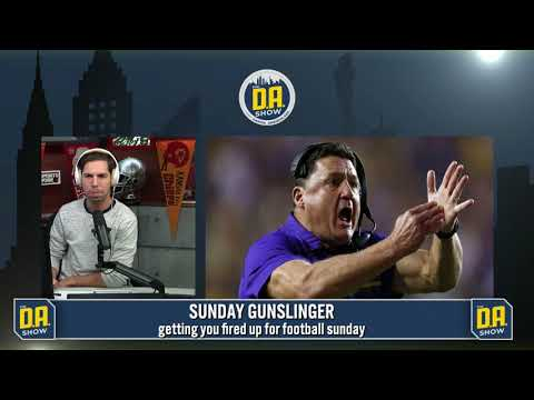 D.A.shreds LSU and Ed Orgeron for the disgraceful loss to Troy