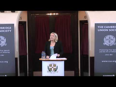 Marine Le Pen | The Cambridge Union