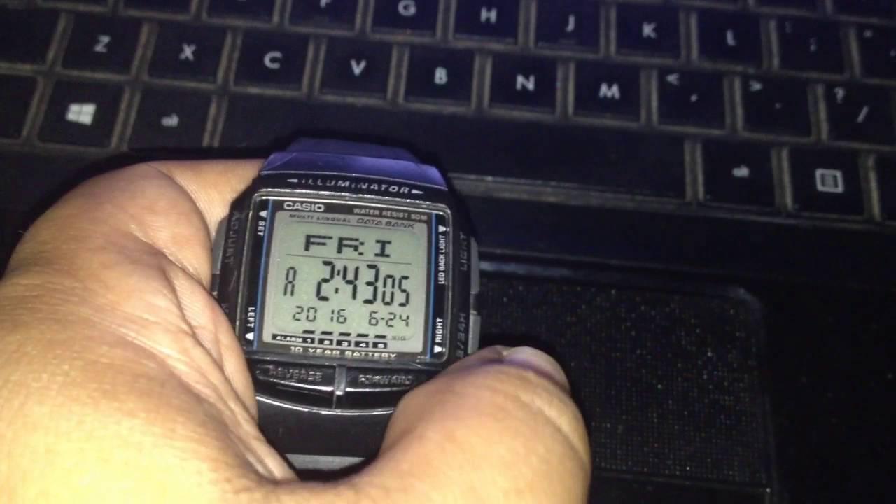 2dc3cb95d97 Casio DB-36 Databank - YouTube