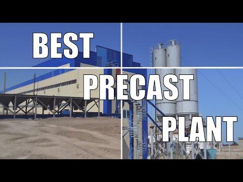 New Precast Concrete Plant Wall Slab Column Girder Weiler Дом Завод Плиты Стены Панели Казах