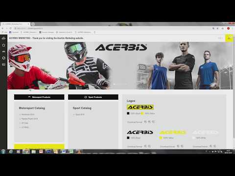 ACERBIS MARKETING TUTORIAL - Print your PDF catalog