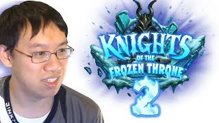 Knights of the Frozen Throne - Card Review #2 w/ Trump - Featuring Sindragosa!