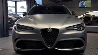 Alfa Romeo UK | Goodwood Festival of Speed 2018| Giulia and Stelvio NRING