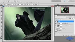 Создаём в Фотошоп коллаж «Хранитель сокровищ» - 1