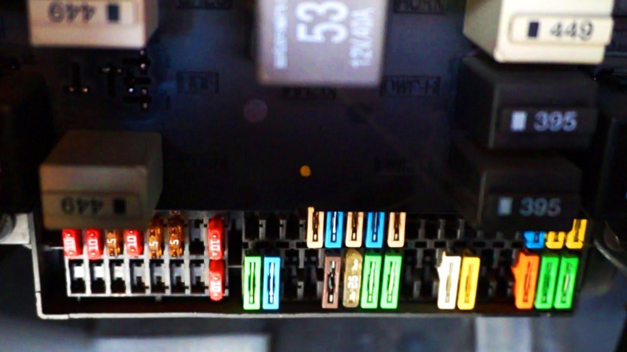 Seat Altea cabin fuses, relays, OBD2 port location  YouTube
