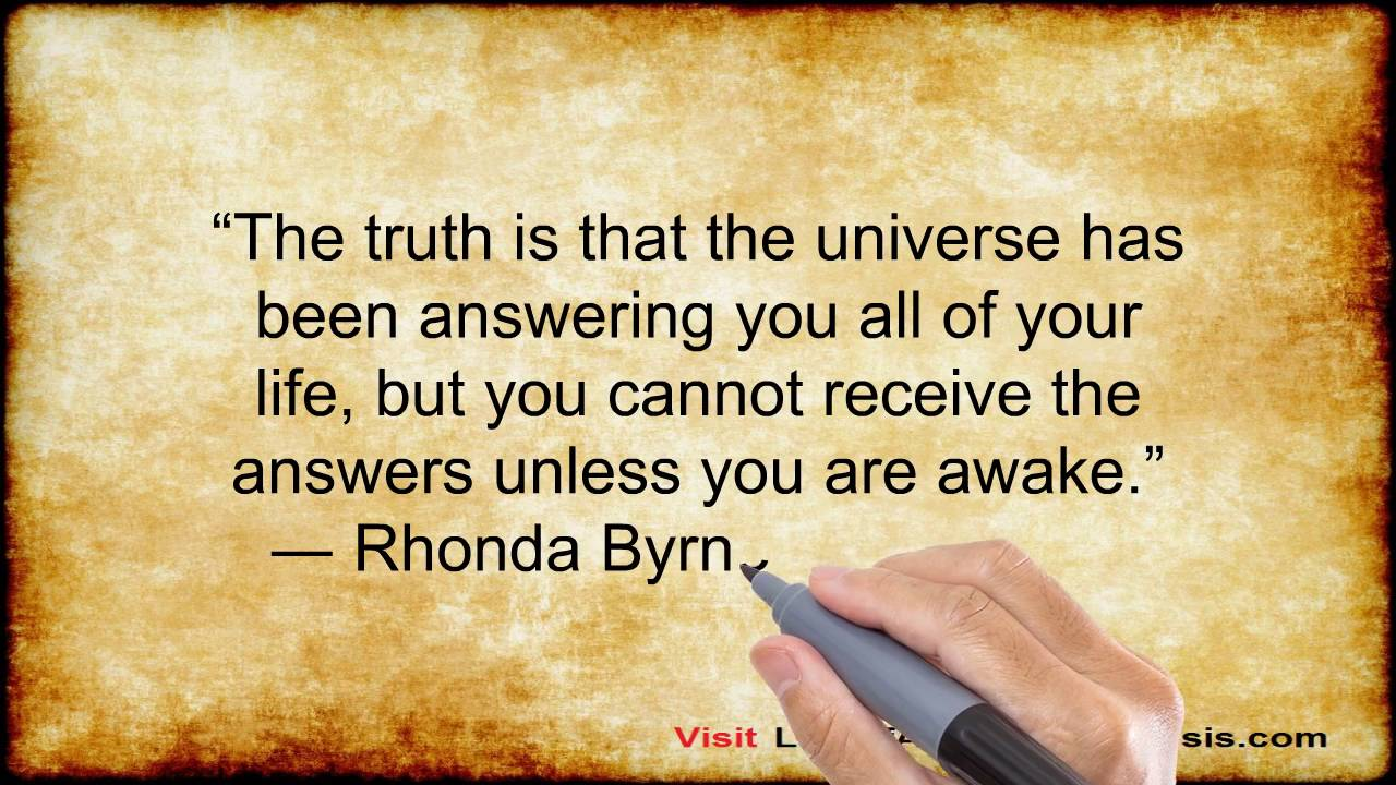 The Secret Quotes 11 Inspirational Quotes From The Secret Law Of Attraction  Youtube
