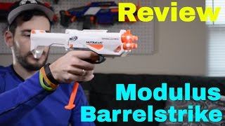 [Review] Nerf Modulus Barrelstrike (Unboxing, Combos and Firing Test)