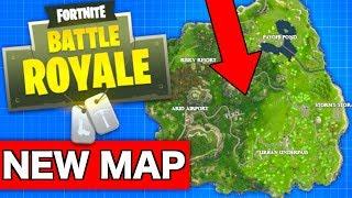 Fortnite NEW MAP for Season 5?