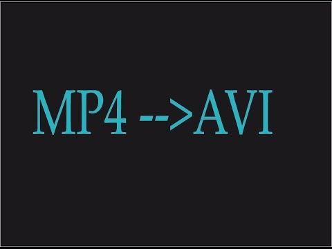 Convertir Mp4 A  Avi, Pasar Mp4  A Avi, Programa Para Convertir De Mp4 A Avi, Gratis, Muy Facil