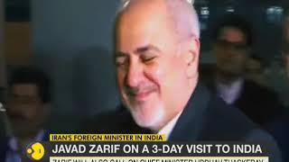 Iranian FM Javad Zarif arrives in India on 3-day visit
