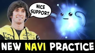 New NaVi practice — Dendi and RodjER double mid
