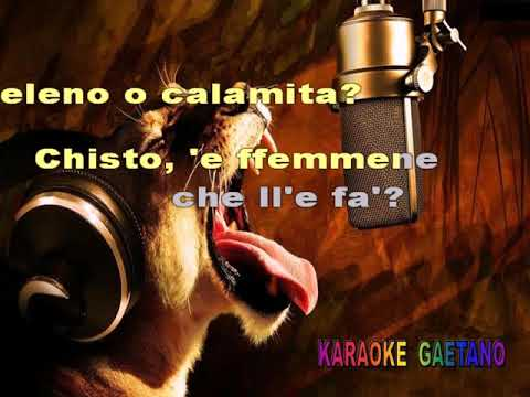 I Marechiaro Project   'o sarracino Karaoke Version con cori