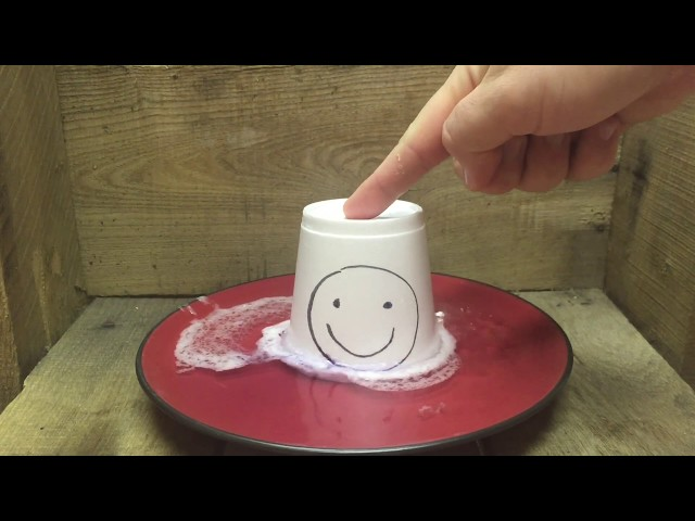 Melting Styrofoam with Acetone