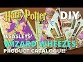 DIY Weasleys Wizard Wheezes Catalogue