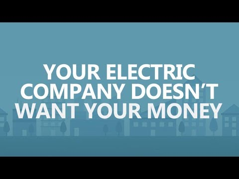 Save Big in 30 seconds a day: Your electric company doesn't want your money.