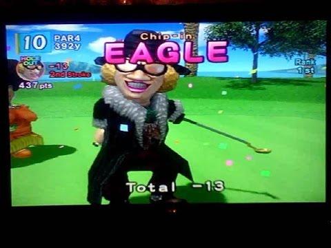 Training Mode Fun (+ Funny Bertha Phrases) Hot Shots Golf
