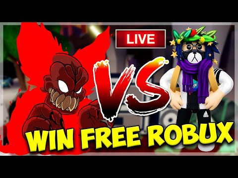 🔴 ROBLOX FRIDAY NIGHT FUNKIN WITH VIEWERS | WINNERS GET ROBUX | Roblox LIVE thumbnail