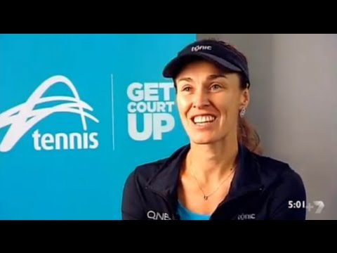 Martina Hingis, Australian Open Interview - 2016 - YouTube
