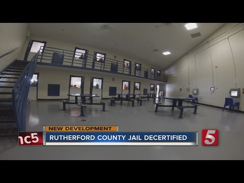 Board Votes To Decertify Rutherford County Jail