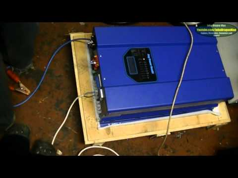 12KW Whole House UPS Backup Low Frequency Pure Sine Wave Inverter 48v to 230v Part 5 of 5