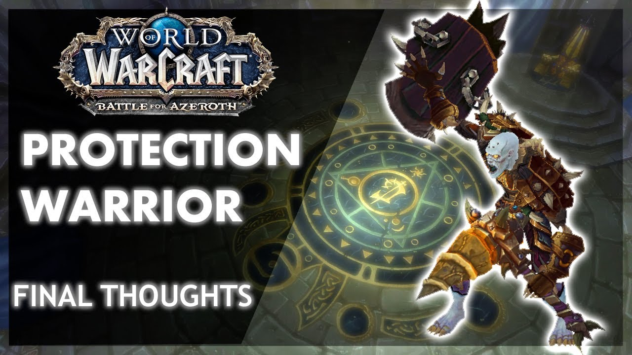 BfA - FINALIZED PROTECTION WARRIOR LOOK - New Talents!