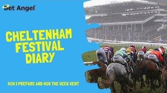 Betfair trading | Cheltenham Festival 2020 | Trading diary