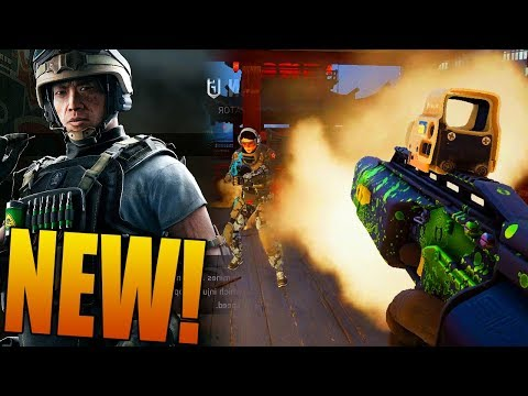 RAINBOW SIX SIEGE - LESION GAMEPLAY (New Blood Orchid DLC)