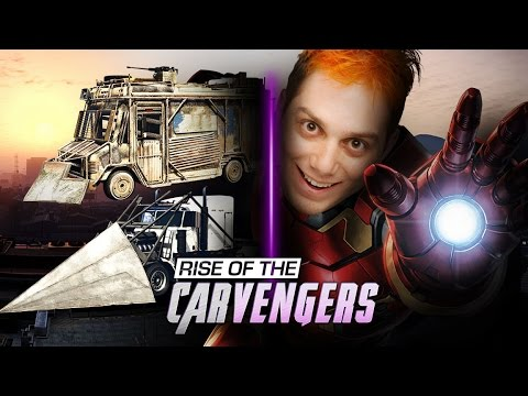 RISE OF THE CARVENGERS! (Grand Theft Smosh)