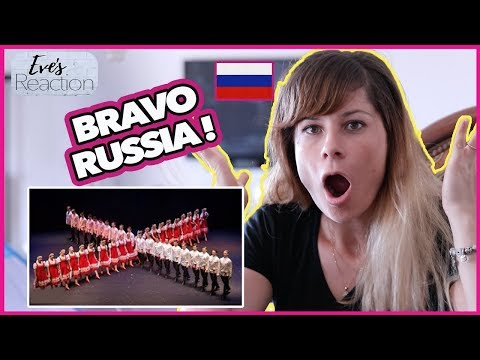 "Russian Dance ""Summer"" - Русский танец ""Лето"". Балет Игоря Моисеева | Reaction"