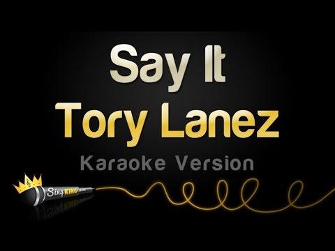 Tory Lanez - Say It (Karaoke Version)