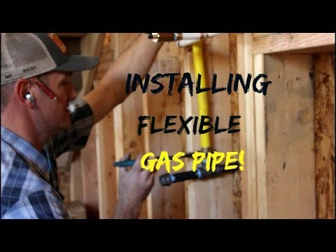 DIY Home Build: Installing Flexible Gas Line (Home Depot)