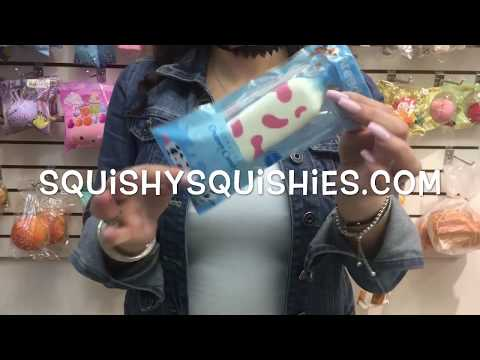 Areedy creamy candy Squishy Squishies you can buy in our Montreal Toy Store Funky Toys!!!!!