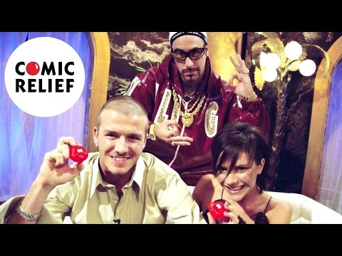 Thumbnail: When Ali G met the Beckhams | Red Nose Day 2001