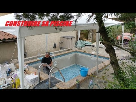 Construire SoiMme Une Petite Piscine   Youtube