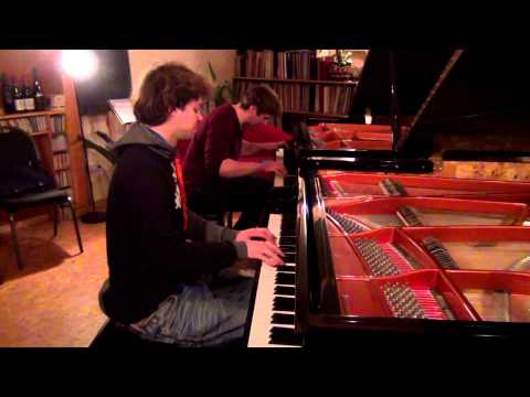 Birdy - People Help The People (Two Piano Cover)