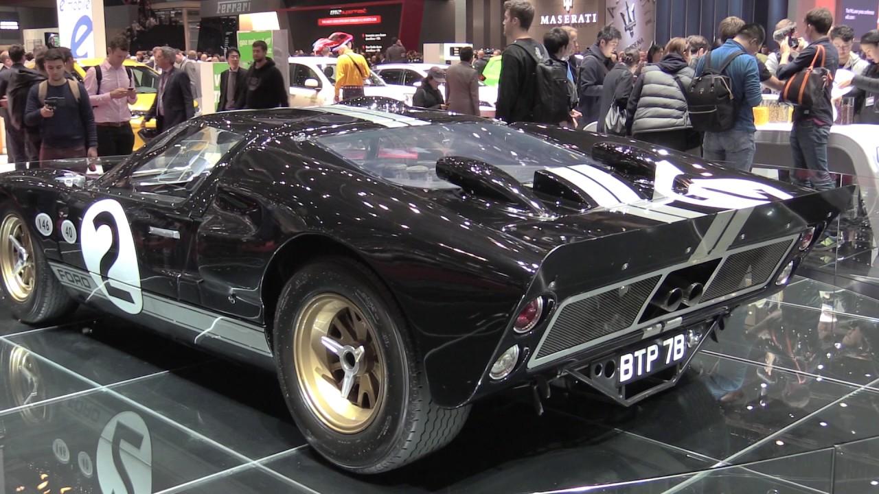 1966 ford gt40 race car at 2017 geneva motor show. Black Bedroom Furniture Sets. Home Design Ideas