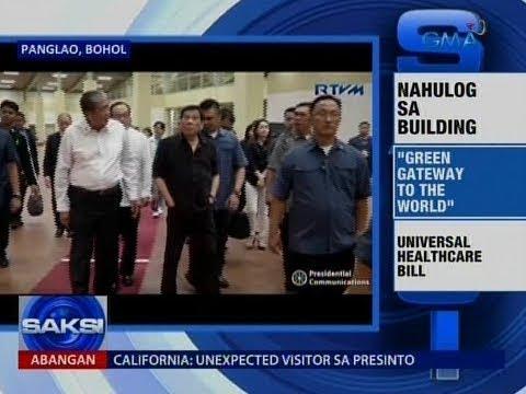 Saksi: Bohol-Panglao International Airport, nakaranas ng buena manong aberya