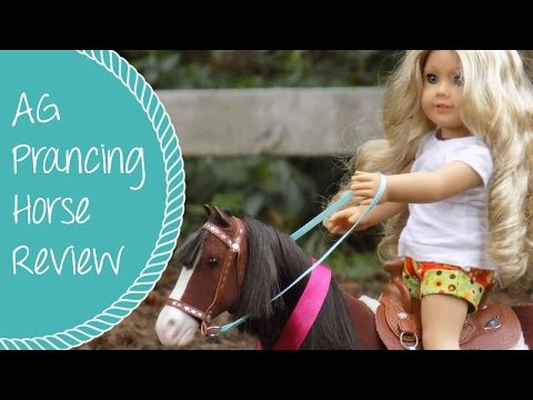 American Girl Prancing Horse And Saddle Award Set 2015 Review