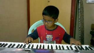 Varanam Aayiram - AVA ENNA ENNA THEDI VANDHA ANJALA  by padmesh