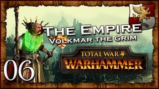 [6] VOLKMAR VS MANFRED - Total War: Warhammer (The Grim and the Grave) Empire Campaign Walkthrough