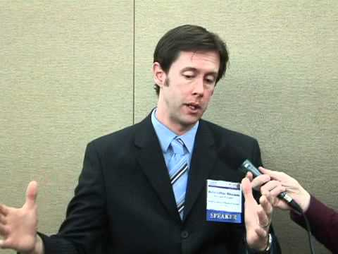 Dr. Kristoffer Rhoads at the 27th Annual Alzheimer's Association Regional Conference in Seattle