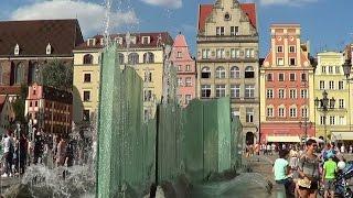Rynek we Wrocławiu - sierpień 2015