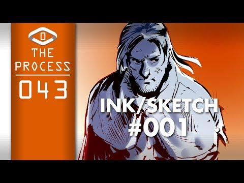 THE PROCESS: Ink Sketch #001