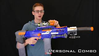 NERF COMBOS | PERSONAL COMBO MONTAGE